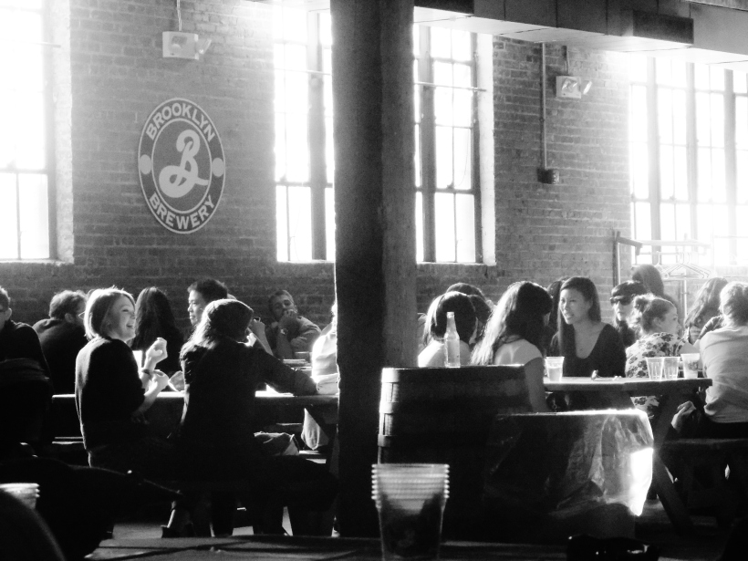 Brooklyn Brewery bw #hoptgf