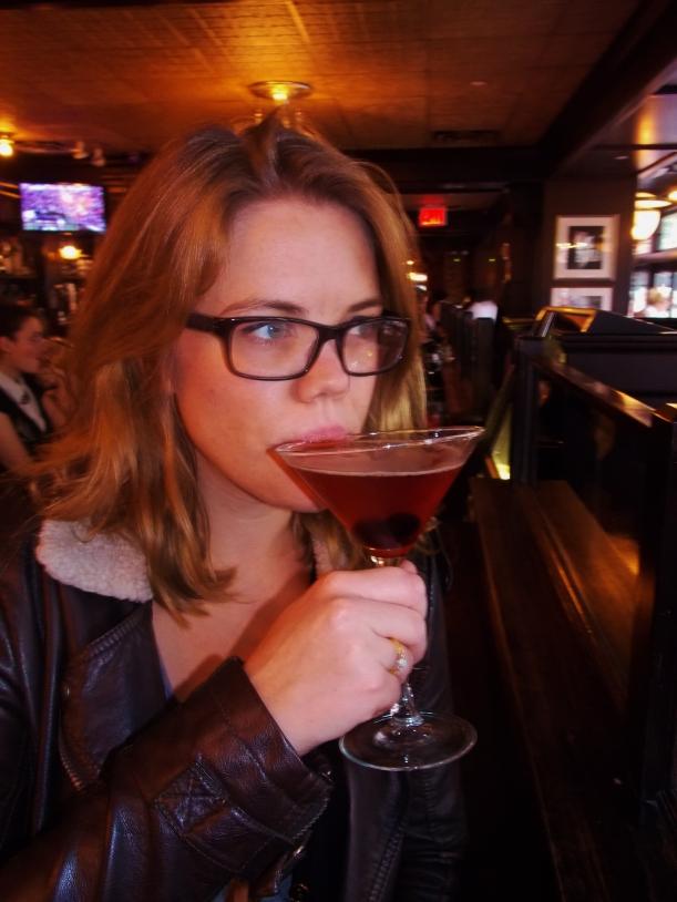 Manhattan in Manhattan first sip #hoptgf