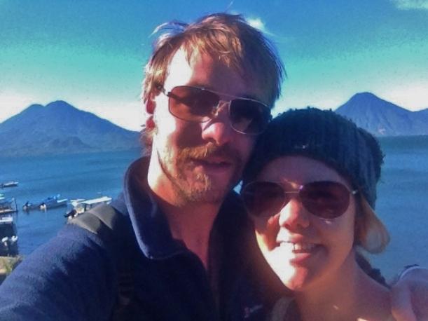 Lake Atitan Selfie
