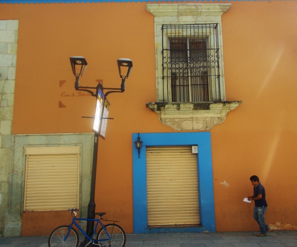 Bold colours of Oaxaca