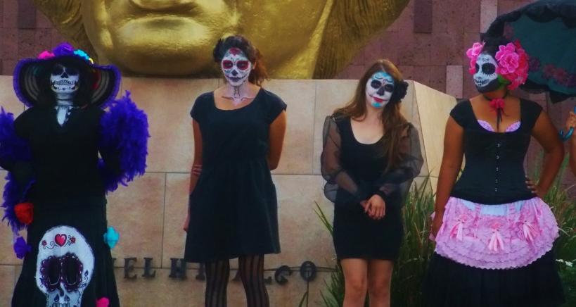 Bored Catrina's at Ensenada #hoptgf