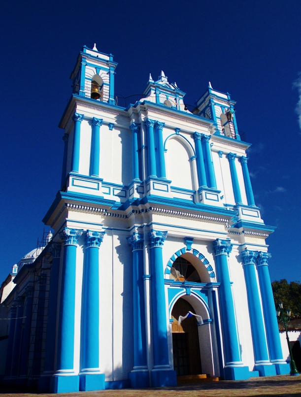 Handsome blue church