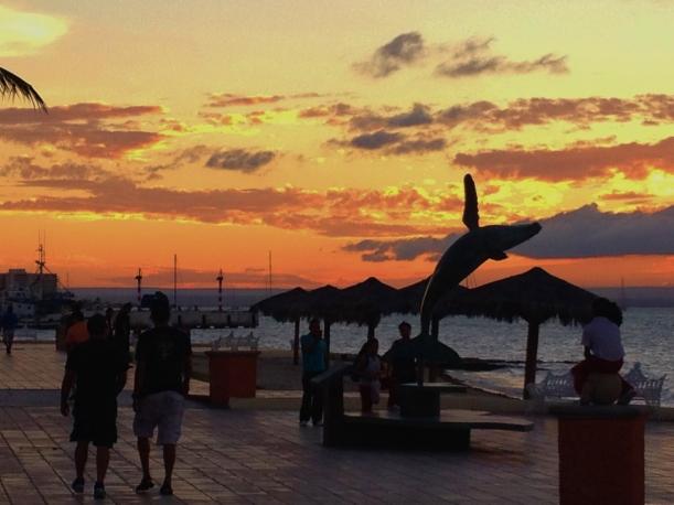La Paz sunset 1 #hoptgf