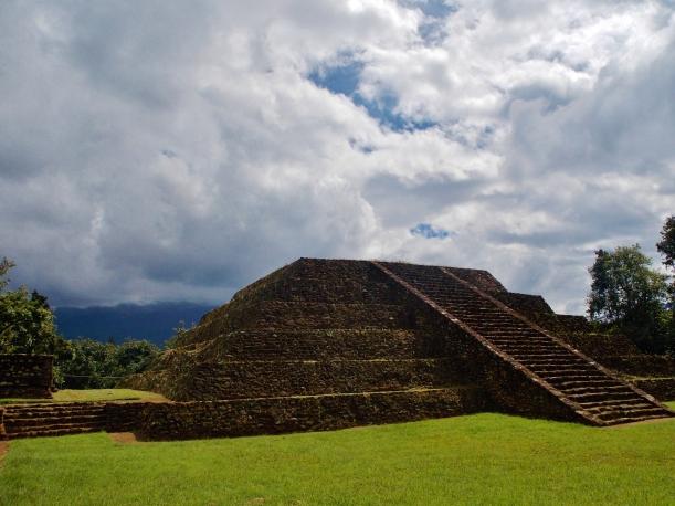 Moon pyramid of Tingambato ruins, #hoptgf