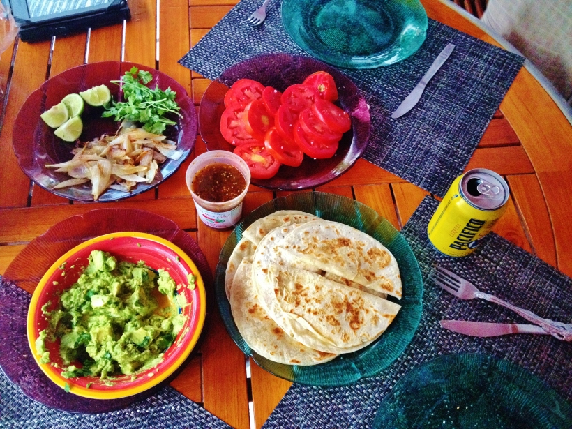 Ollie and Rich's Quesadillas