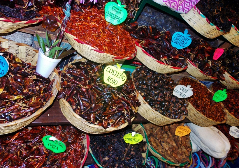 Standsard dried chilli selection