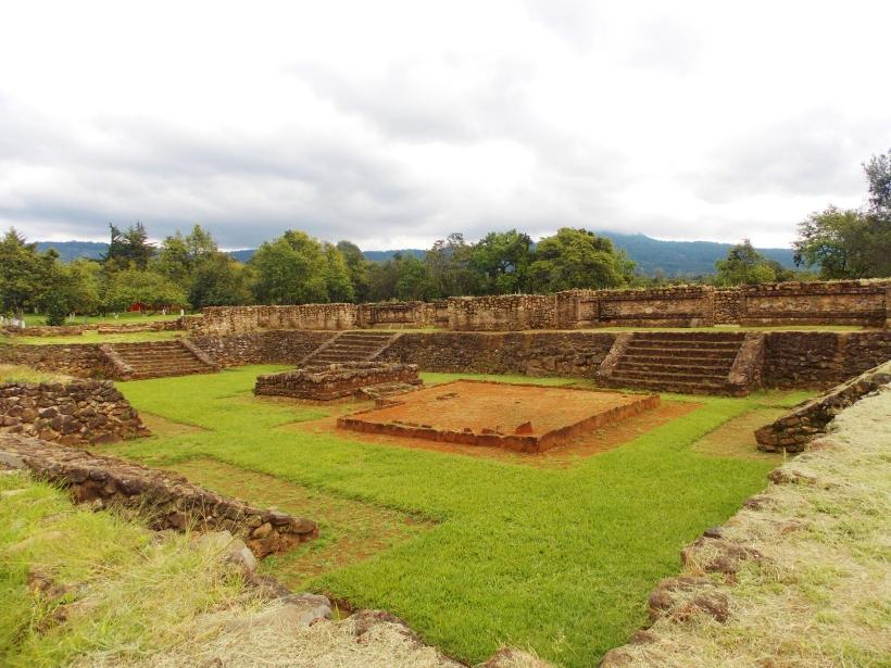 The plaza of Tingambato ruins #hoptgf