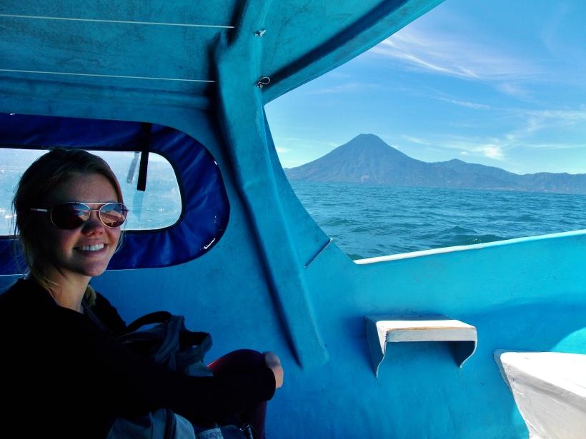 Boat ride to San Pedro