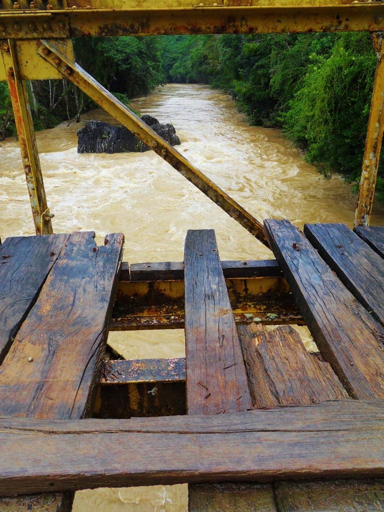 Bridge over the Rio Cahabón