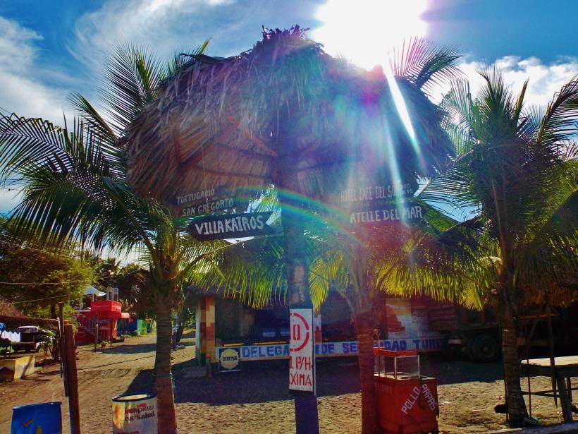Monterrican road sign