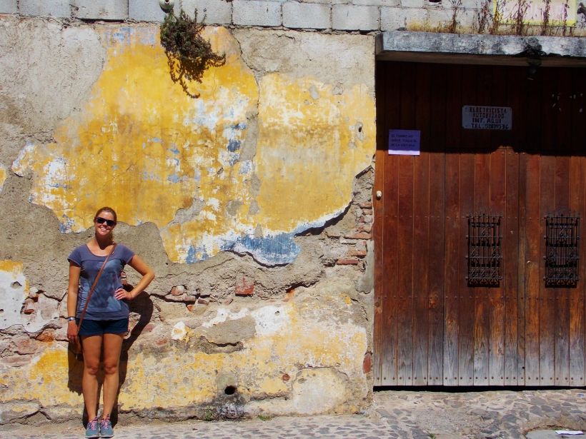 More building posing in Antigua