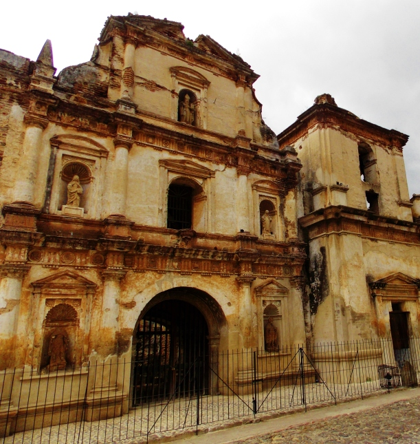 One of the various church ruins of Antigua