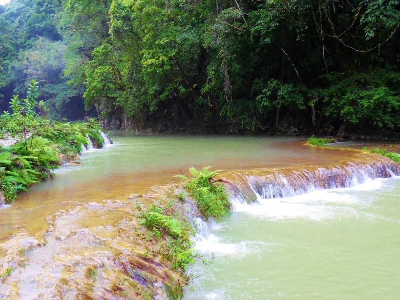 Semuc Champey waterfalls