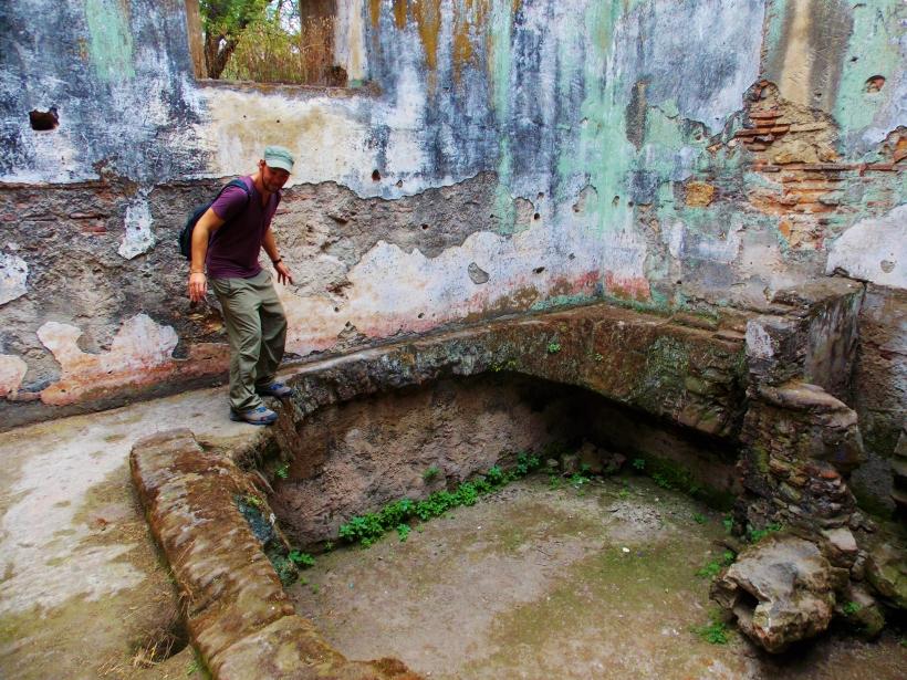 The pit of San Jeronimo