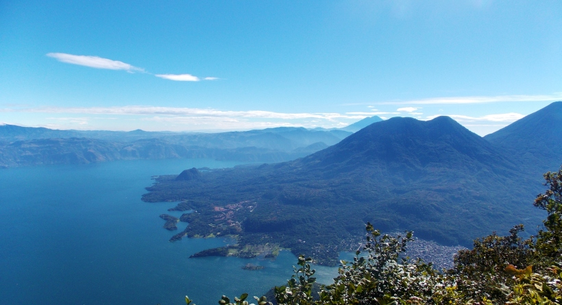 Volcan Toliman from top of San Pedro