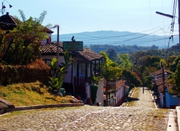 Cobbled streets of Suchitoto