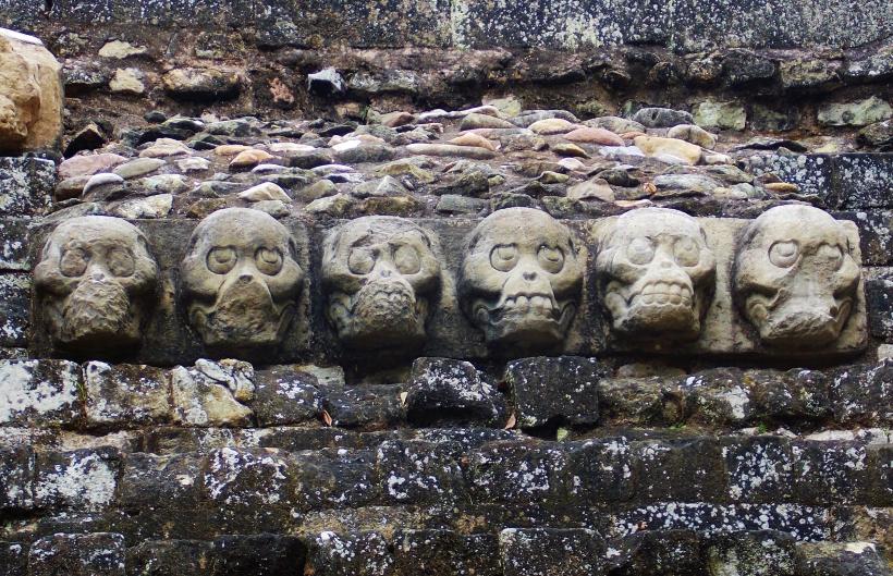 Copan Skulls