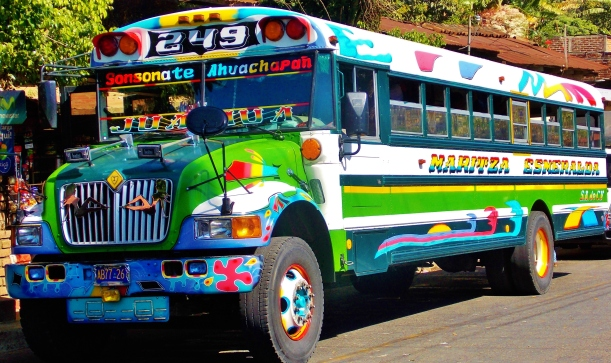 Juayua chicken bus