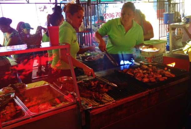 More food stalls