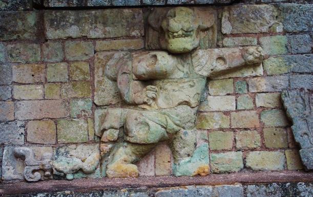 Ollies favorite, the cheeky dancing Jaguar carving
