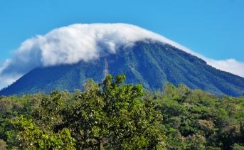 One of the extinct volcanoes along the Ruta de las Flores