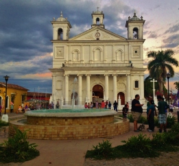 Santa Lucia at dusk