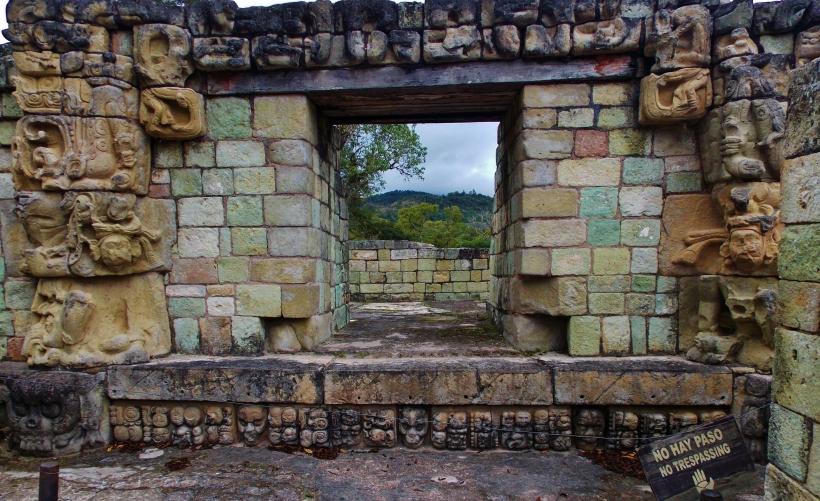 Temple 22 Copan Ruins