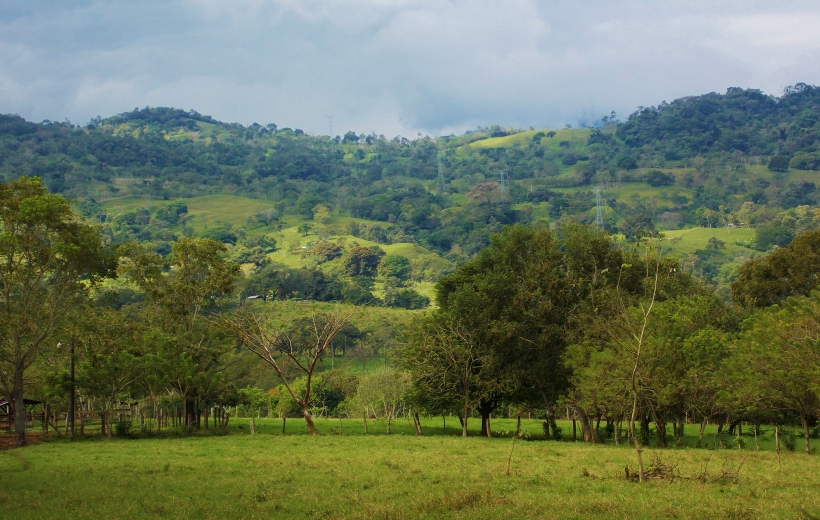 Green hills of Honduras