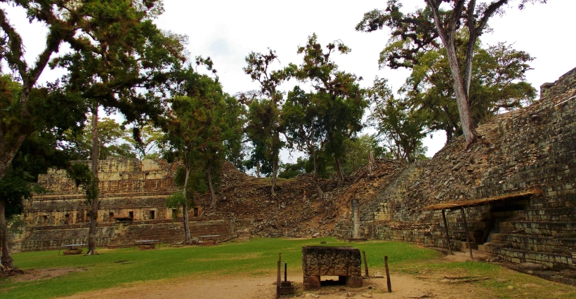 West court of Copan Ruins