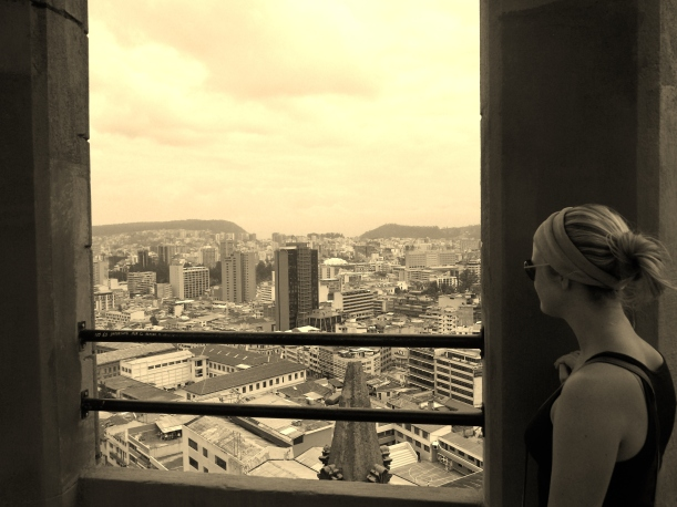 Looking out over Quito - Its pretty damn big