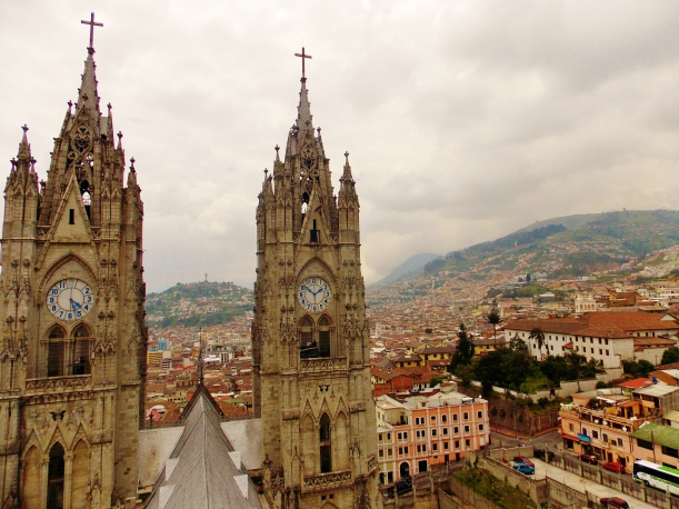 From the top of the Basilica's Spire