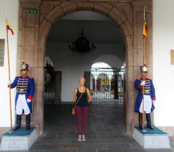 Guards of the Palacio del Gobierno (Presidential Palace)