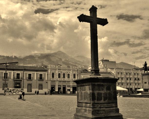 Plaza Santa Domingo of Quito