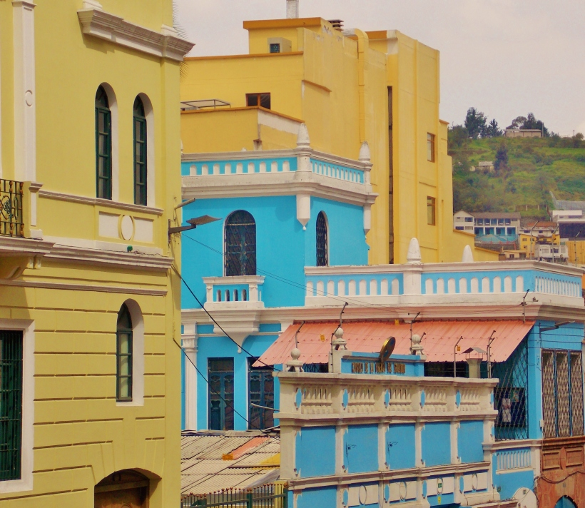 Pretty colours of Quito
