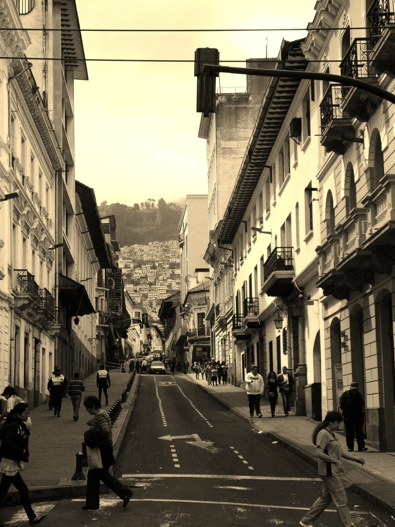 Just another Quito street