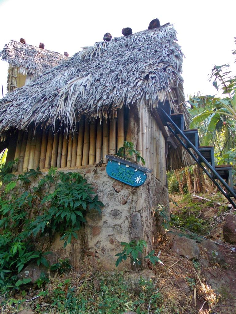 Our cabin at El Zopilote