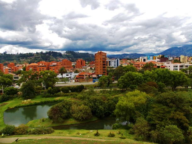 Over the river in Cuenca