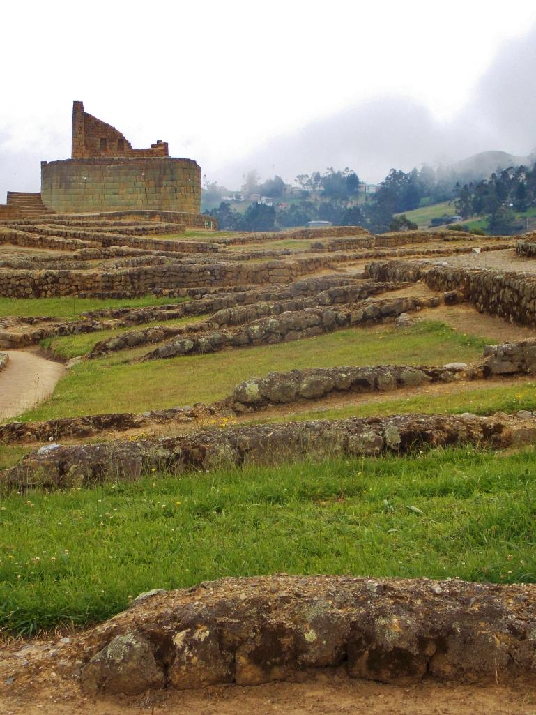 The sun temple of Ingapirca