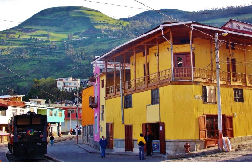 Streets of Alausí