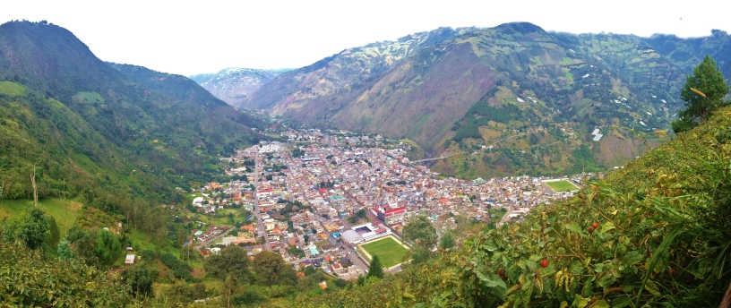 Baños from above