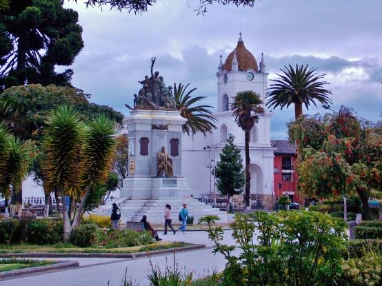 Parque Vincent Leon, Latacunga