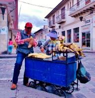 Plantain Vendor Latacunga