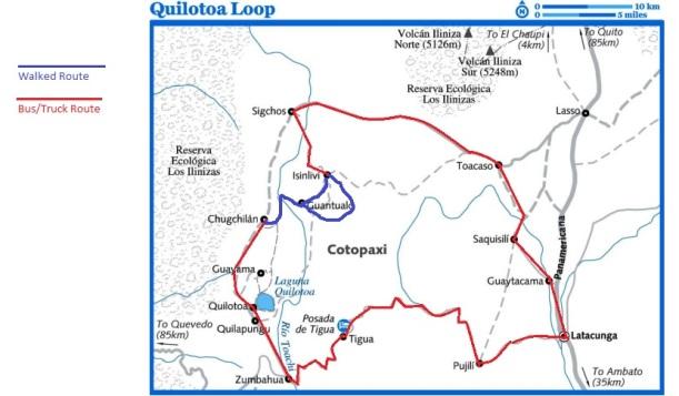Quilotoa Loop Route