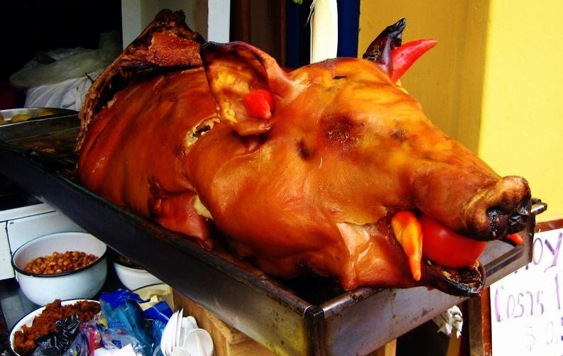 Roast pig courtesy of jammin.jux.com