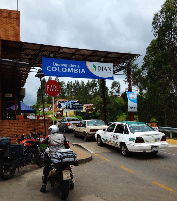 The Ecuador/Colombian border to Ipales