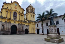 One of Popayáns many churches