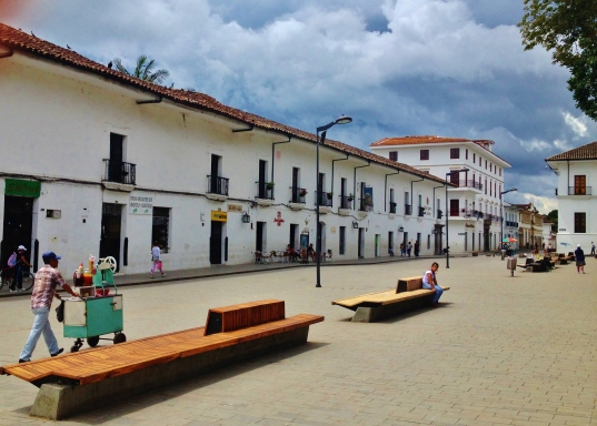 Yep, more white buildings in Popayán