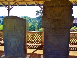 First set of 3500 year old carvings in the hills in San Agustin