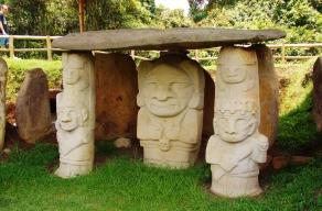 San Agustín carvings