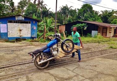 Mr Jefferson getting his Brujita on the track - San Cipriano